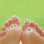 entspannte Füße